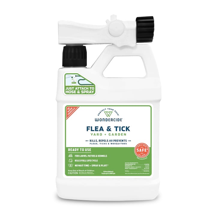 Ready-to-Use Flea & Tick Spray for Yard + Garden