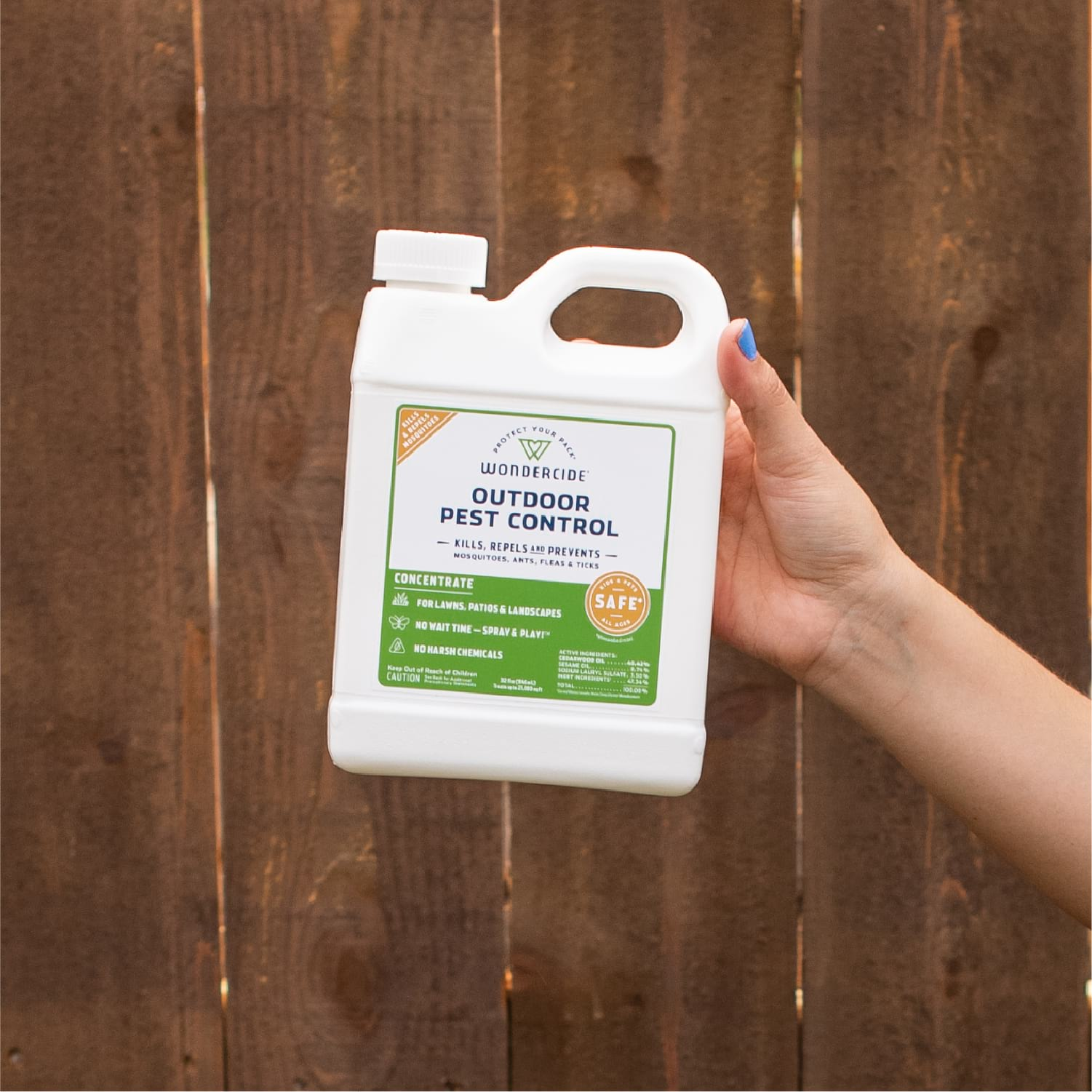 Outdoor Pest Control Concentrate for Yard + Garden - Gallery