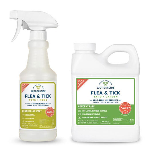 Lemongrass Spot Drops Replacement Kit Flea & Tick Spray