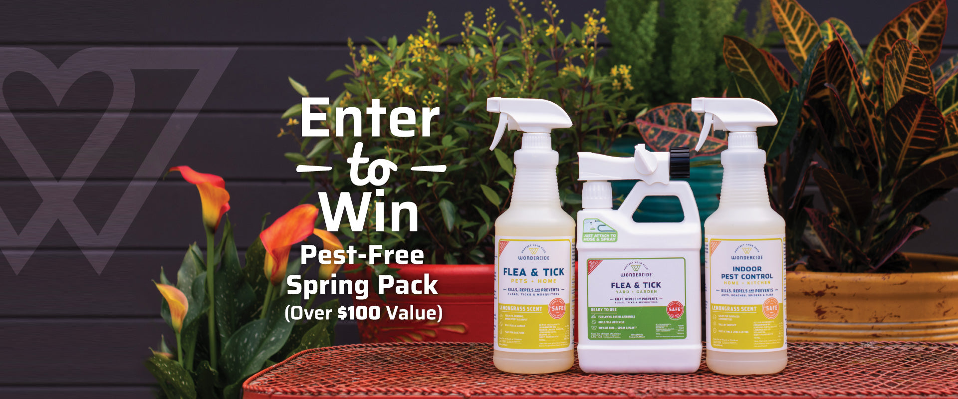 Enter to Win Pest-Free Spring Pack