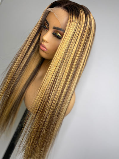 Brown Sugar (13x4) Frontal Wig