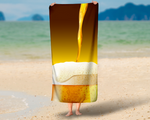 Light Beer Summer Beach Towel