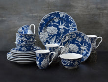 Load image into Gallery viewer, Adelaide Dark Blue 16 Piece Dinnerware Set