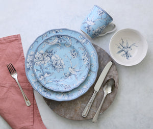 Adelaide Light Blue 16 Piece Dinnerware Set