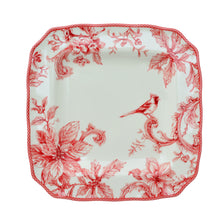 Load image into Gallery viewer, Christmas Lane Red 16 Piece Dinnerware Set