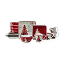 Load image into Gallery viewer, Northwood Cottage 16-piece Dinnerware Set