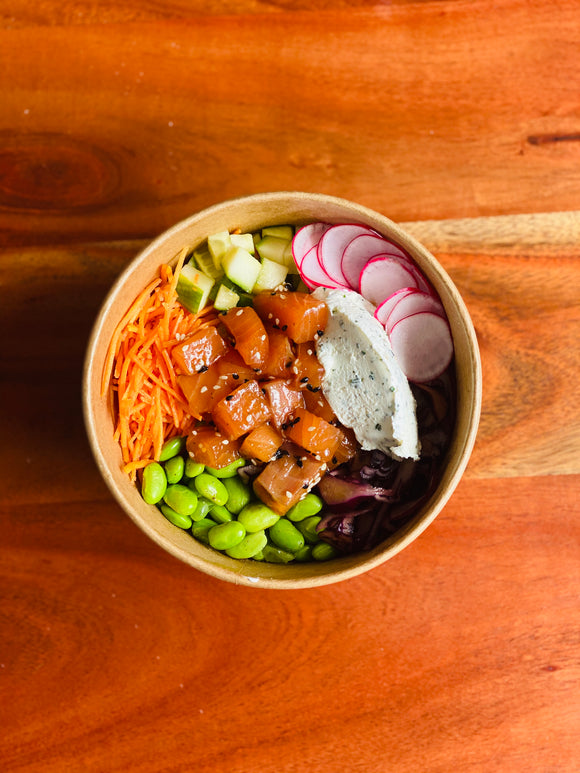 Poke-Bowl Saumon
