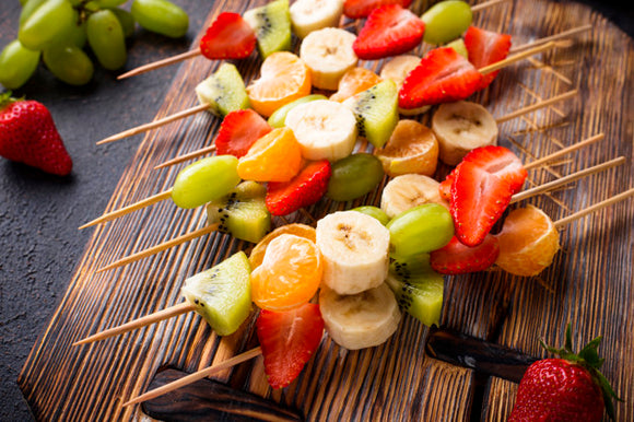 Brochettes de fruits x30 en coffret
