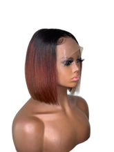 "Load image into Gallery viewer, Tiara 10"" Lace Frontal Human Hair Wig"