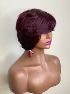 Roxy-Short Style Wig Human Hair