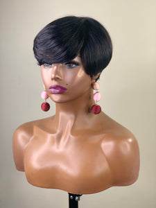 Erica Short Wig Human hair Glueless
