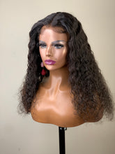 Load image into Gallery viewer, Cantrice 16' Wet & Wavy Deep Curly Glueless Human Hair Lace Frontal