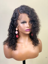 "Load image into Gallery viewer, Keysha 14"" Glueless Human Hair Lace Frontal Wig"
