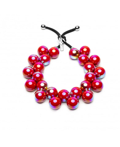 Collana balls SuperStar Cherry