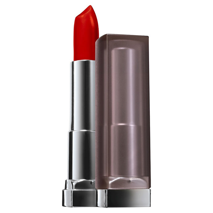 Maybelline Creamy Mattes Lipcolor Lipstick 690 Siren in Scarlett - Asian Beauty Supply