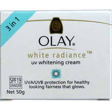 Load image into Gallery viewer, Olay White Radiance UV Whitening Cream SPF 19 Skin Whitening with Sunscreen 50g