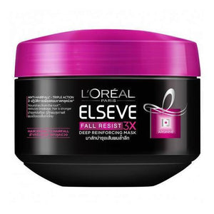 L'Oreal Paris Elseve Fall Resist Deep Reinforcing Mask 200ml - Asian Beauty Supply
