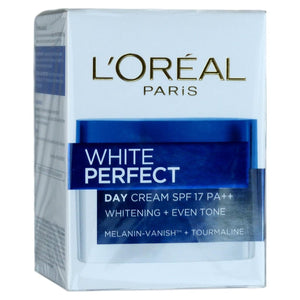 L'Oreal White Perfect Day Cream Tourmaline Skin Whitening SPF 17 20ml - Asian Beauty Supply