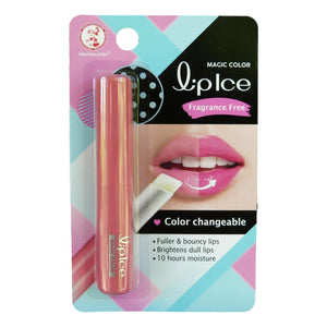Mentholatum Lip Ice Magic Color Changeable Pink Fragrance Free Lip Balm