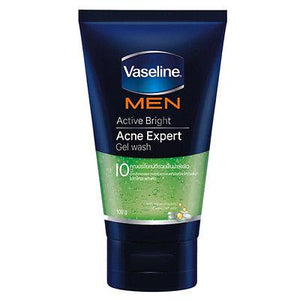 Vaseline Men Active Bright Acne Expert Gel Wash 100 grams - Asian Beauty Supply