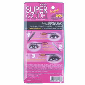 Mistine Super Model Miracle Lash Mascara - Asian Beauty Supply