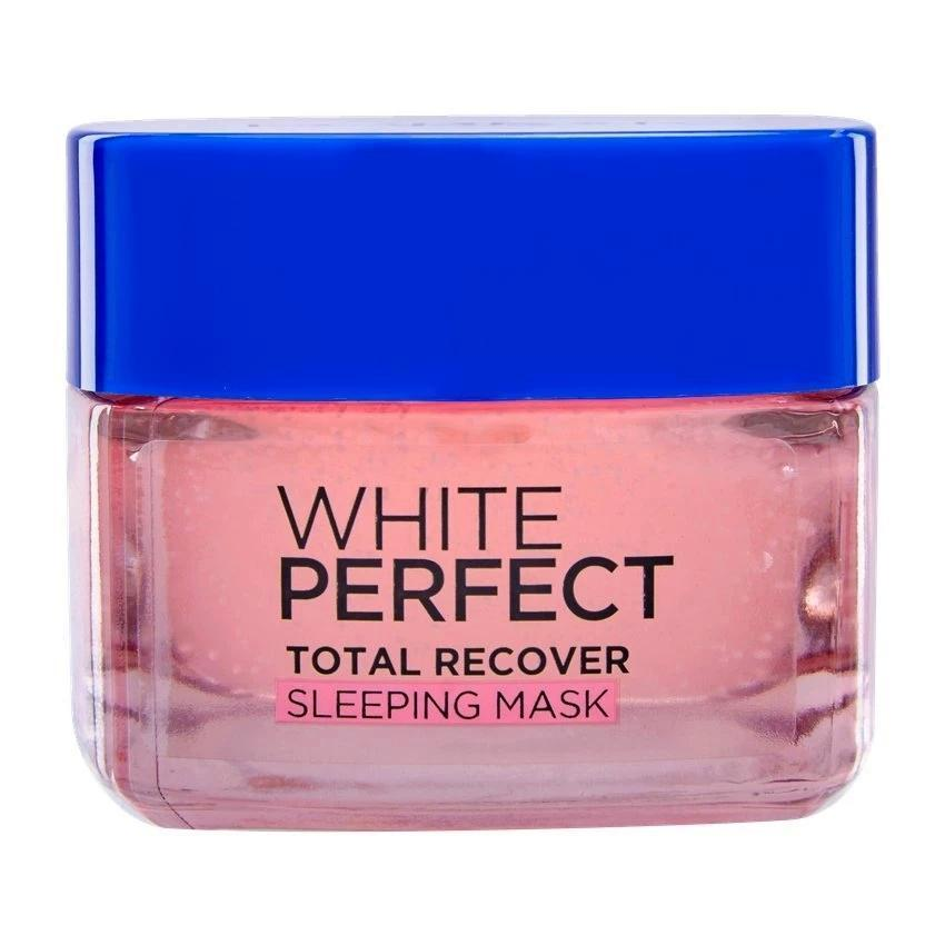 L'Oreal Paris White Perfect Total Recover Sleeping Mask Skin Whitening 50ml - Asian Beauty Supply