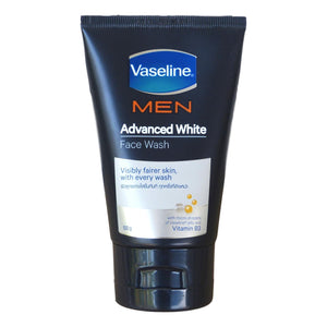 Vaseline Men Advanced White Face Wash for Visibly Fairer Skin 100 grams - Asian Beauty Supply