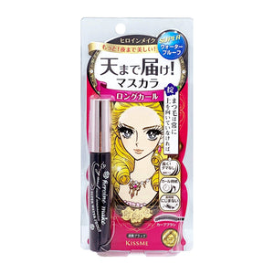 Heroine Make Long and Curl Mascara Super Waterproof Jet Black