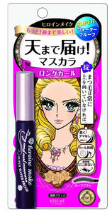 Heroine Make Long and Curl Mascara Super Waterproof Jet Black - Asian Beauty Supply