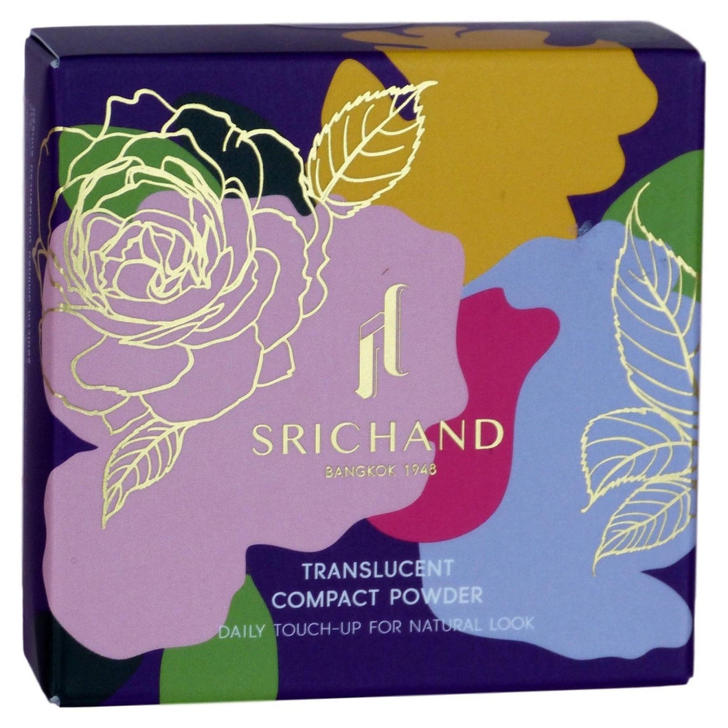 Srichand Translucent Compact Powder Daily Touch Up Natural Look 9 grams