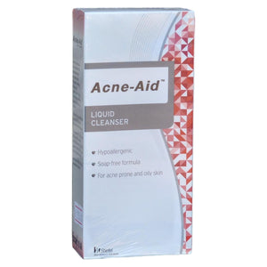 Acne Aid Liquid Cleanser Non-Soap Facial Cleanser Acne Prone Oily Skin - Asian Beauty Supply