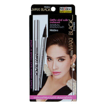 Load image into Gallery viewer, Mistine Maxi Black Eyeliner Sharp Extreme Glossy Black 0.05mm - Asian Beauty Supply