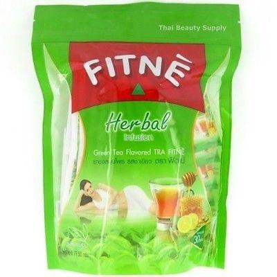 Fitne Herbal Infusion Green Tea and Senna Diet Slimming Tea 30 teabags - Asian Beauty Supply
