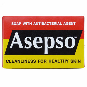 Asepso Antibacterial Bar Soap 80 grams Pack of 4 - Asian Beauty Supply
