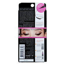 Load image into Gallery viewer, Mistine Maxi Black Eyeliner Sharp Extreme Glossy Black 0.05mm