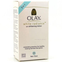 Load image into Gallery viewer, Olay White Radiance UV Whitening Lotion with Sunscreen Skin Whitening 75ml - Asian Beauty Supply