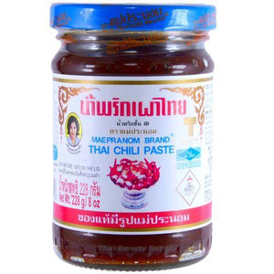 Mae Pranom Thai Chili Paste for Tom Yum Soup 8 oz - Asian Beauty Supply