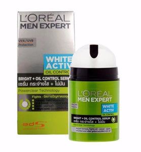 L'Oreal Men Expert White Activ Oil Control Serum Moisturizer 50ml