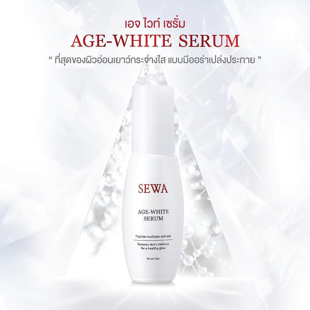 Sewa Age-White Serum 40ml - Asian Beauty Supply