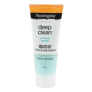 Neutrogena Deep Clean Purifying SCRUB 100 grams - Asian Beauty Supply