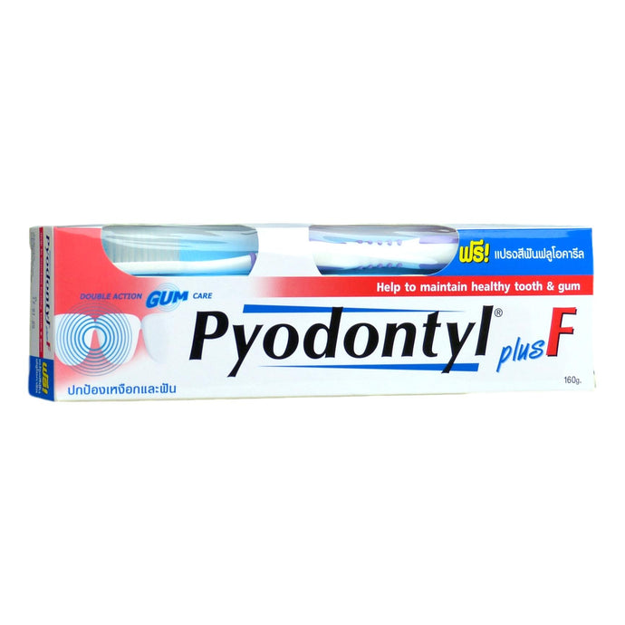 Pyodontyl plus F Toothpaste 160g - Asian Beauty Supply