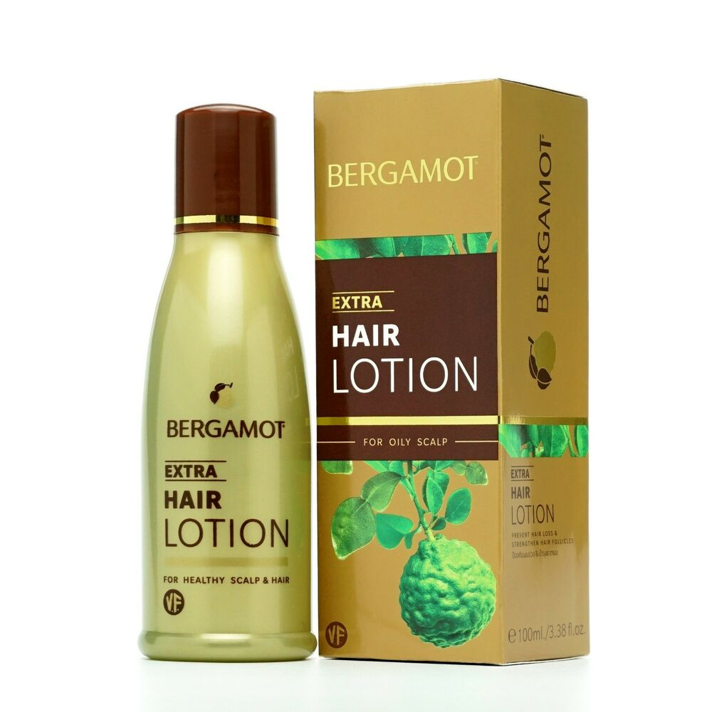 Bergamot Gold Extra Hair Lotion Prevents Hair Loss Vitamin F Kaffir Lime 100ml - Asian Beauty Supply