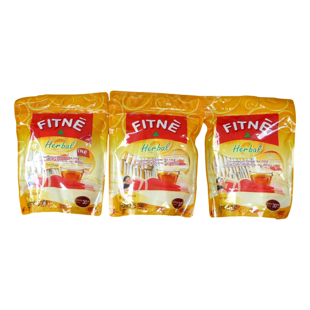 Fitne Tea Herbal Chrysanthemum and Senna Slimming Diet Weight Loss 90 Teabags - Asian Beauty Supply