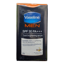Load image into Gallery viewer, Vaseline Men Total Brightening Serum SPF 30 50 grams - Asian Beauty Supply