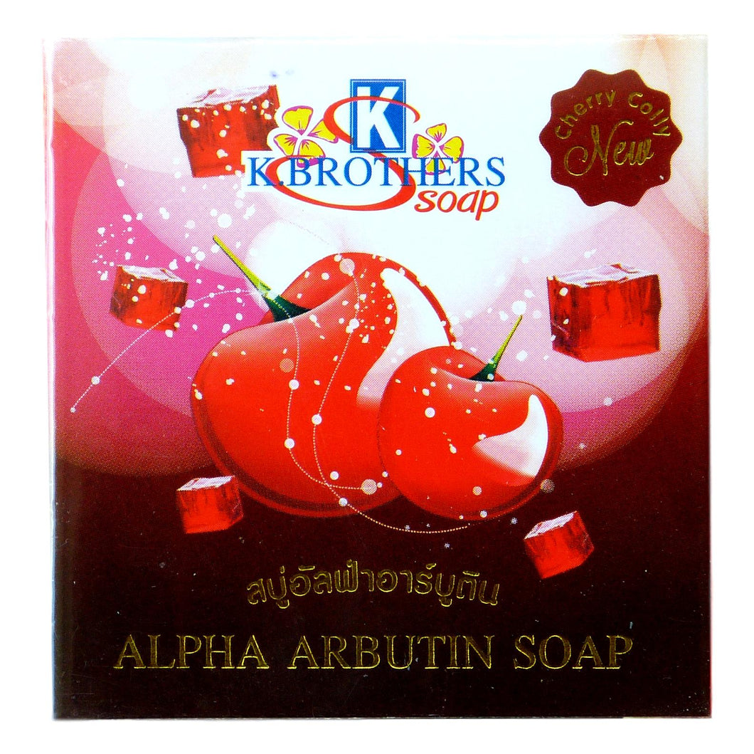 K. Brothers Alpha Arbutin Soap 60 grams - Asian Beauty Supply