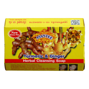 Asantee Turmeric and Ginger with Honey Skin Whitening Facial Soap - Asian Beauty Supply
