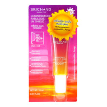 Load image into Gallery viewer, Srichand Luminescence Fabulous UV Shield Facial Sunscreen 15ml - Asian Beauty Supply