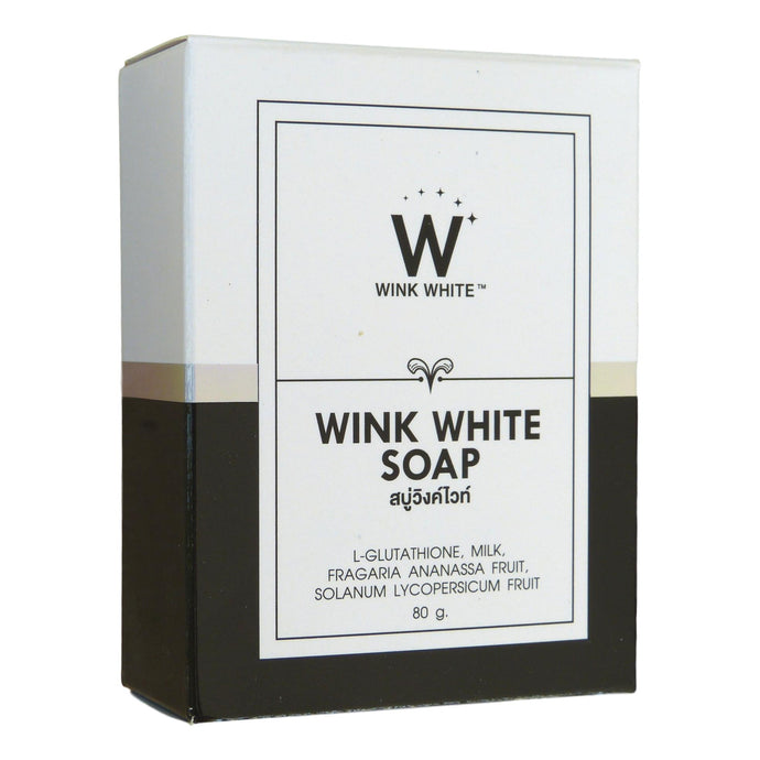 Wink White Soap with L-Glutathione 80g
