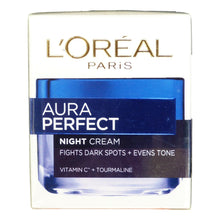 Load image into Gallery viewer, L'Oreal White Perfect Tourmaline Night Cream 50ml 1.7oz - Asian Beauty Supply