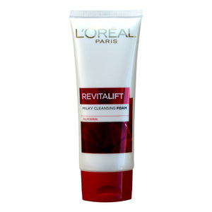 L'Oreal Paris Revitalift Milky Cleansing Foam Anti Aging LHA Glycerin 100ml